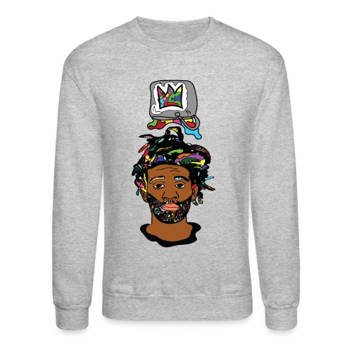 Rocksteeze Paint Bucket Crown Sweater - Crewneck Sweatshirt