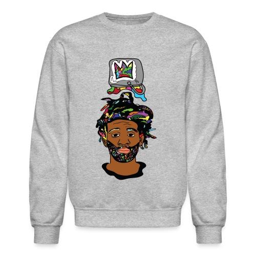Rocksteeze Paint Bucket Crown Sweater - Crewneck Sweatshirt