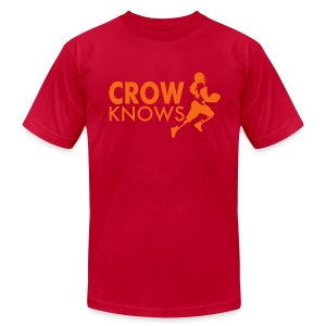 Crow Knows 1 - Men's T-Shirt by American Apparel