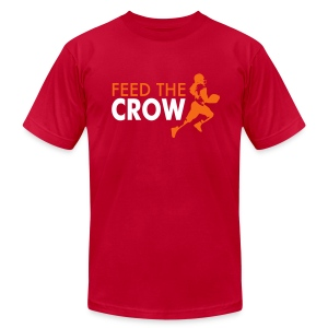 Feed The Crow 2 - Men's T-Shirt by American Apparel