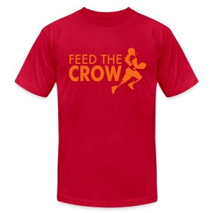 Feed The Crow 1 - Men's T-Shirt by American Apparel