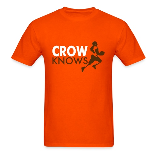 Crow Knows 2B - Men's T-Shirt