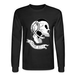 Long Sleeve Stand By Skull Tee - Men's Long Sleeve T-Shirt