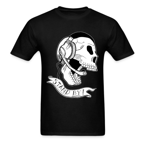 Guys Stand By Skull Tee - Men's T-Shirt