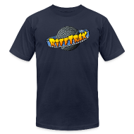 T-Shirts ~ Men's T-Shirt by American Apparel ~ Riff Planet shirt (Men's)