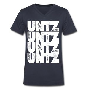 Untz Untz Untz - Men's V-Neck T-Shirt by Canvas