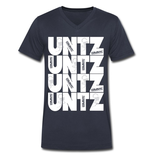 Untz Untz Untz - Men's V-Neck T-Shirt by Canvas