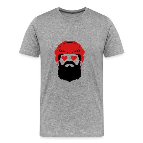 Topi merah - Men's Premium T-Shirt