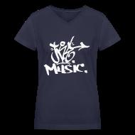 T-Shirts ~ Women's V-Neck T-Shirt ~ Article 18970402