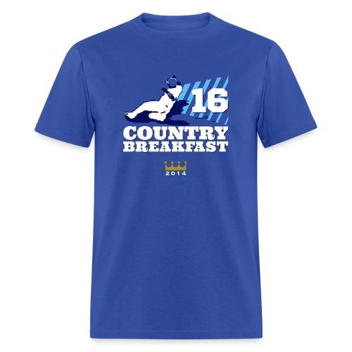 Country Breakfast - Men's T-Shirt