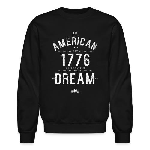 American Dream Crew Neck ( Wht)  - Crewneck Sweatshirt