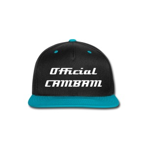 The OfficialCAMBAM Snap-Back - Snap-back Baseball Cap