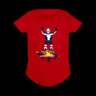 Baby Bodysuits ~ Baby Short Sleeve One Piece ~ 8-Bit Hot Stick Onesie