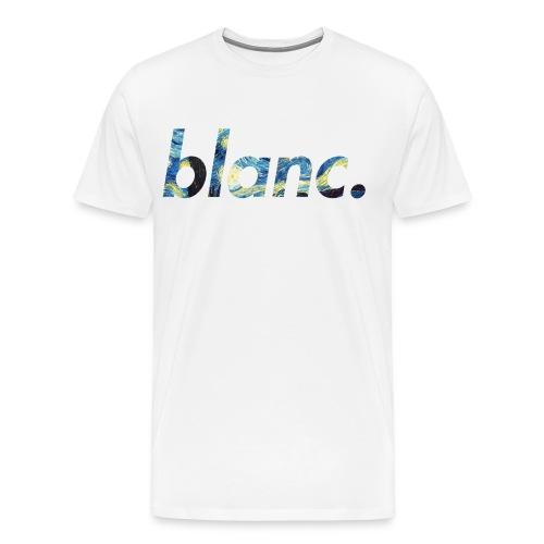 blanc. x van gogh © - Men's Premium T-Shirt