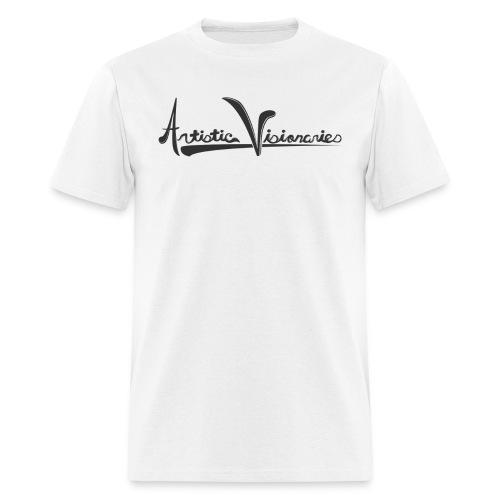 A.V. Men's Black Logo Design - Men's T-Shirt