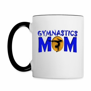 Gymnastics Mom - Contrast Coffee Mug