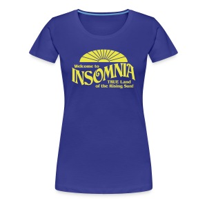 Land of INSOMNIA Ladies Shirt - Women's Premium T-Shirt