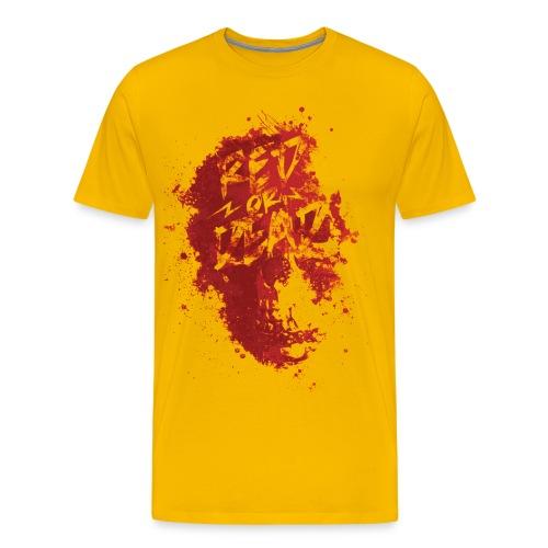 Red or Dead- Yellow - Men's Premium T-Shirt