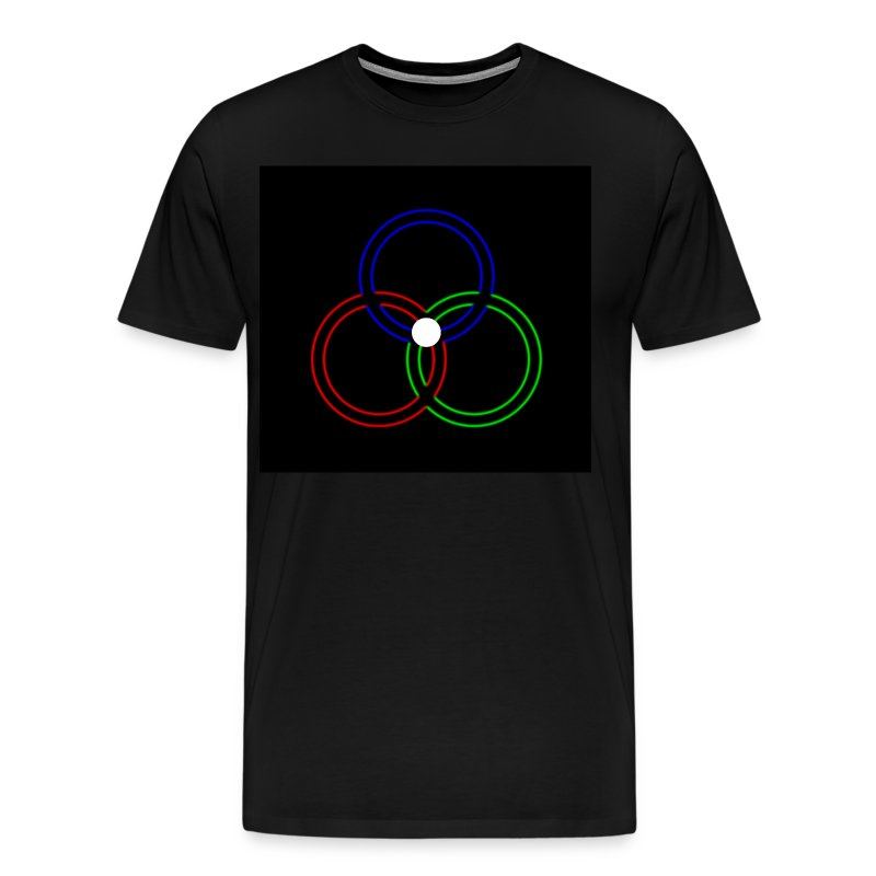 In Neon, The Triune God - Men's Premium T-Shirt