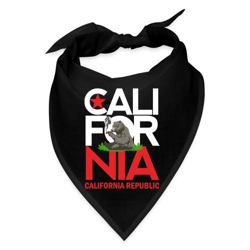 California Republic Marijuana Smoking Bear - Bandana