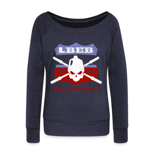 LBEB Prime - Women's Wideneck Sweatshirt