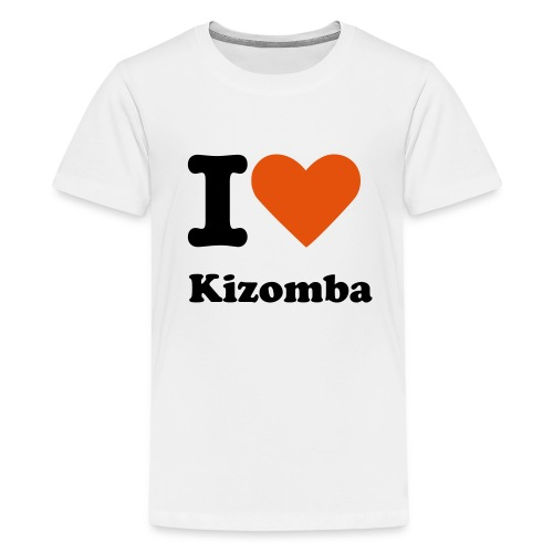 I LOVE KIZOMBA - Kids' Premium T-Shirt