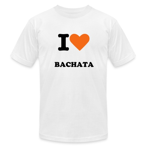 I LOVE BACHATA - Men's Fine Jersey T-Shirt