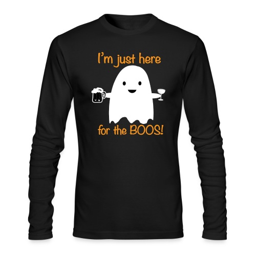 Here for the Boos! - Men's Long Sleeve T-Shirt by Next Level