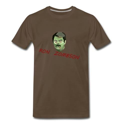 Ron Zombson - Men's Premium T-Shirt