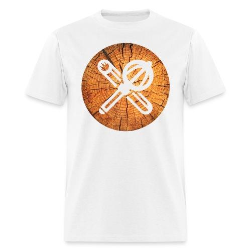 wood crest - Men's T-Shirt