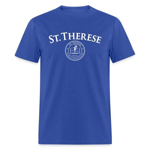 Logo and Crest T-Shirt - Men's T-Shirt
