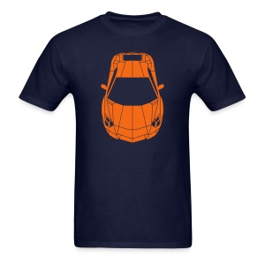Tron Lamborghini (orange) - Men's T-Shirt