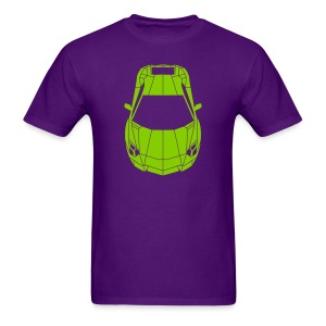 Tron Lamborghini (green) - Men's T-Shirt