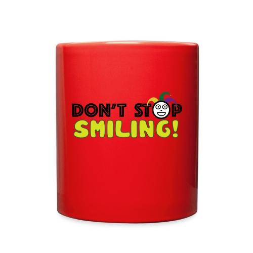 Don't Stop Smiling - Full Color Mug
