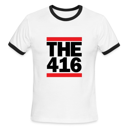 'The 416' Ringer Tee - Men's Ringer T-Shirt