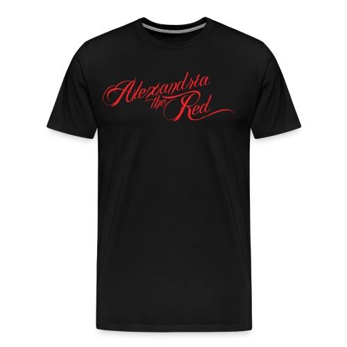 Alexandria the Red- Logo Tee - Men's Premium T-Shirt