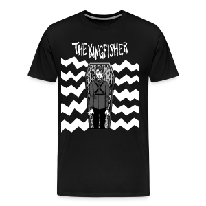 Kingfisher - Expressionist - BLACK shirt - Men's Premium T-Shirt