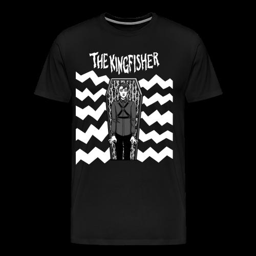 Kingfisher - Expressionist - BLACK shirt - Men's Premium T-Shirt