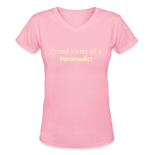 Proud Sister - Women's V-Neck T-Shirt