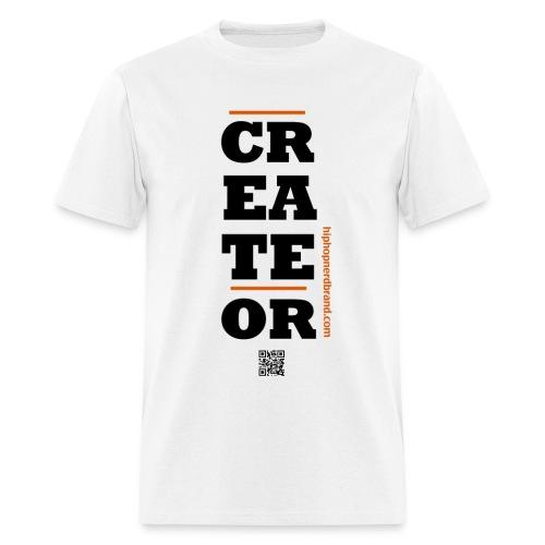 Create Or White - Men's T-Shirt