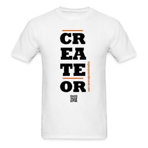 Create Or White - Men's T-Shirt