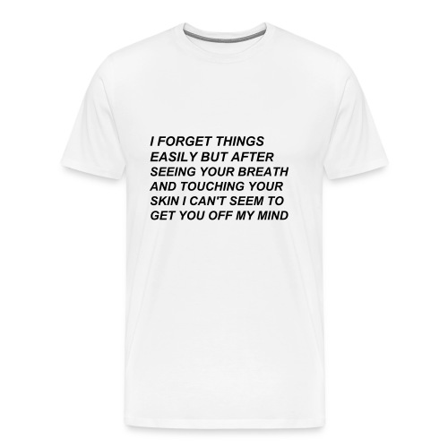Thoughts Tee - Men's Premium T-Shirt