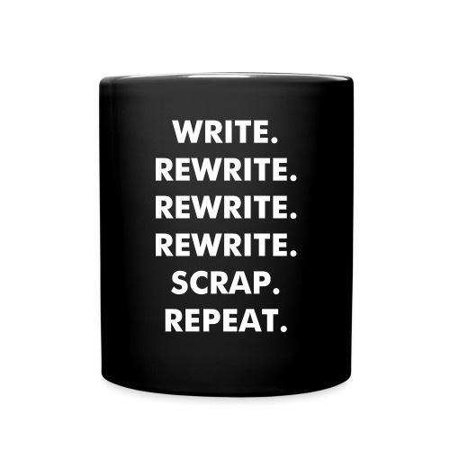 Write, Rewrite, Repeat. -  Mug - Full Color Mug