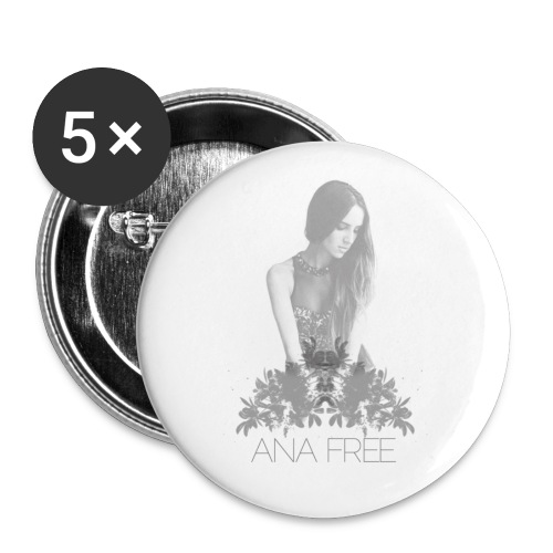 Ana Free Badge - Signature Series - Large Buttons