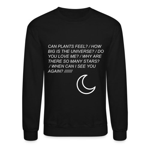 Questions Sweatshirt - Crewneck Sweatshirt