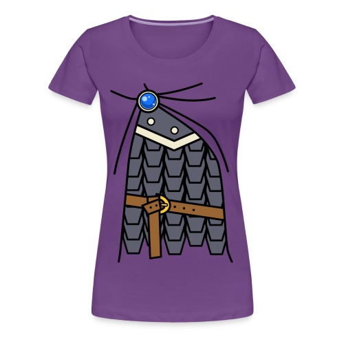 Warrior Girl - Women's Premium T-Shirt