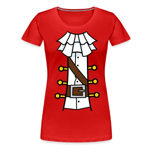 Pirate Girl - Women's Premium T-Shirt