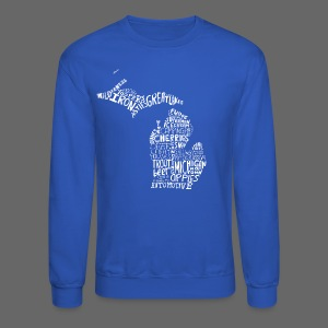 What Makes Up Michigan - Crewneck Sweatshirt
