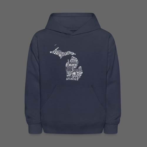 What Makes Up Michigan - Kids' Hoodie