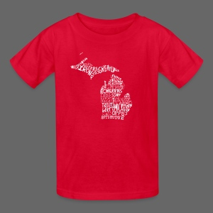 What Makes Up Michigan - Kids' T-Shirt